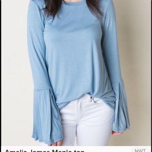 Amelia James Menlo Top Bell Sleeves